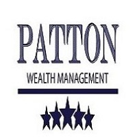 Patton Wealth Management Logo with Stars on the bottom